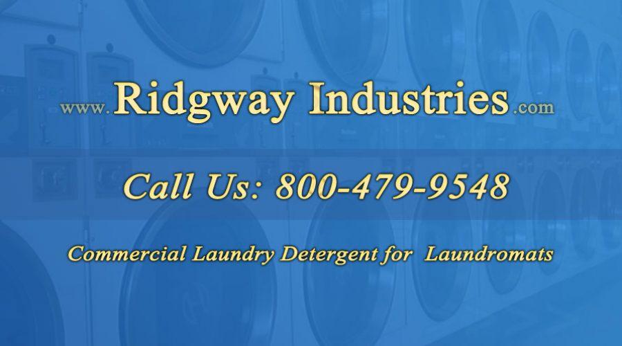 Commercial Laundry Detergent for Laundromats