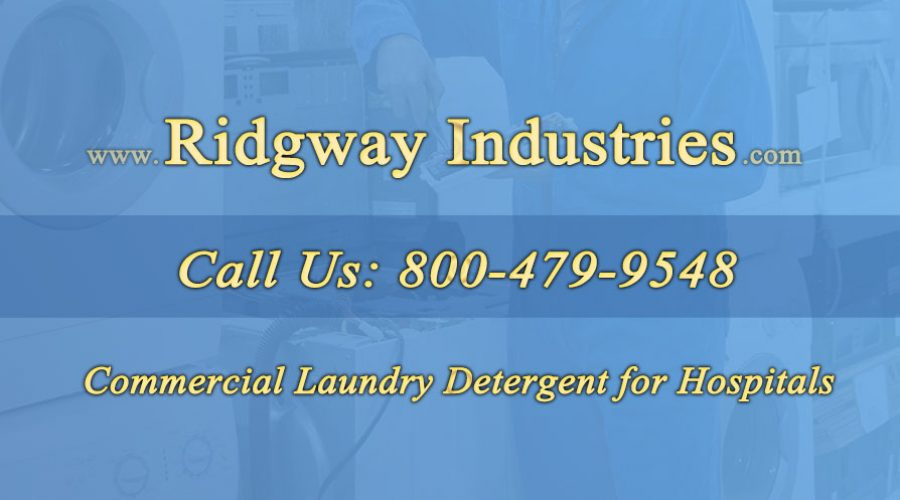 Commercial Laundry Detergent for Hospitals
