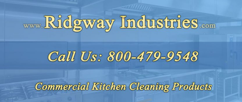 Commercial Kitchen Cleaning Products Port Republic Maryland